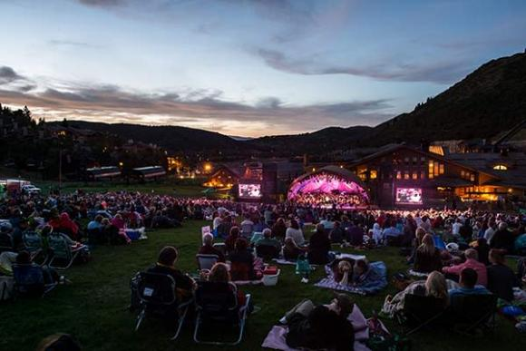 Utah Symphony: Ricky Skaggs & Kentucky Thunder at Snow Park Outdoor Amphitheater