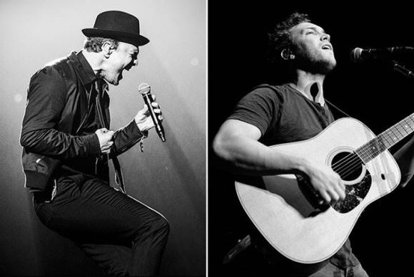 Gavin DeGraw & Phillip Phillips at Snow Park Outdoor Amphitheater
