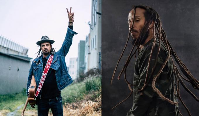 Michael Franti and Spearhead & Ziggy Marley at Snow Park Outdoor Amphitheater