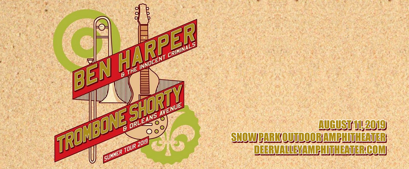 Ben Harper and The Innocent Criminals, Trombone Shorty & Orleans Avenue at Snow Park Outdoor Amphitheater