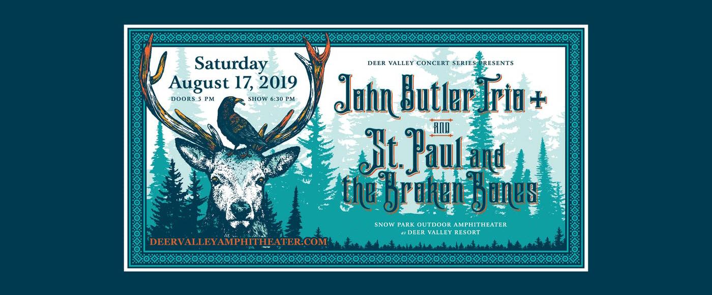 John Butler Trio at Snow Park Outdoor Amphitheater
