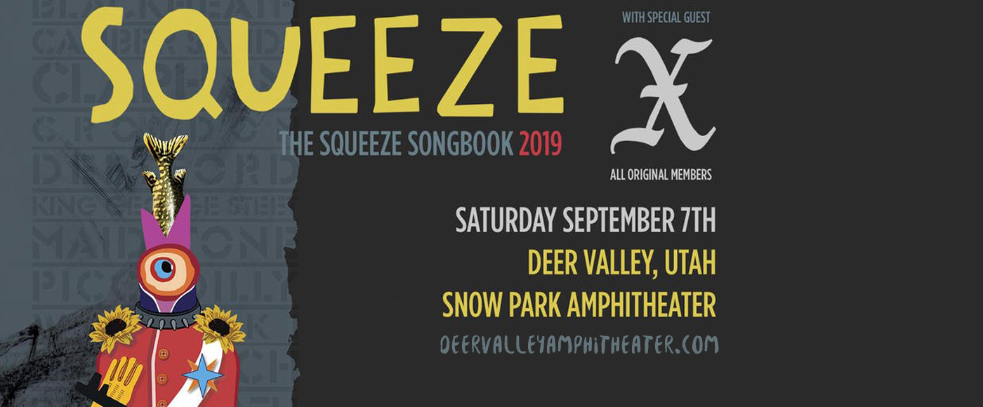 Squeeze at Snow Park Outdoor Amphitheater