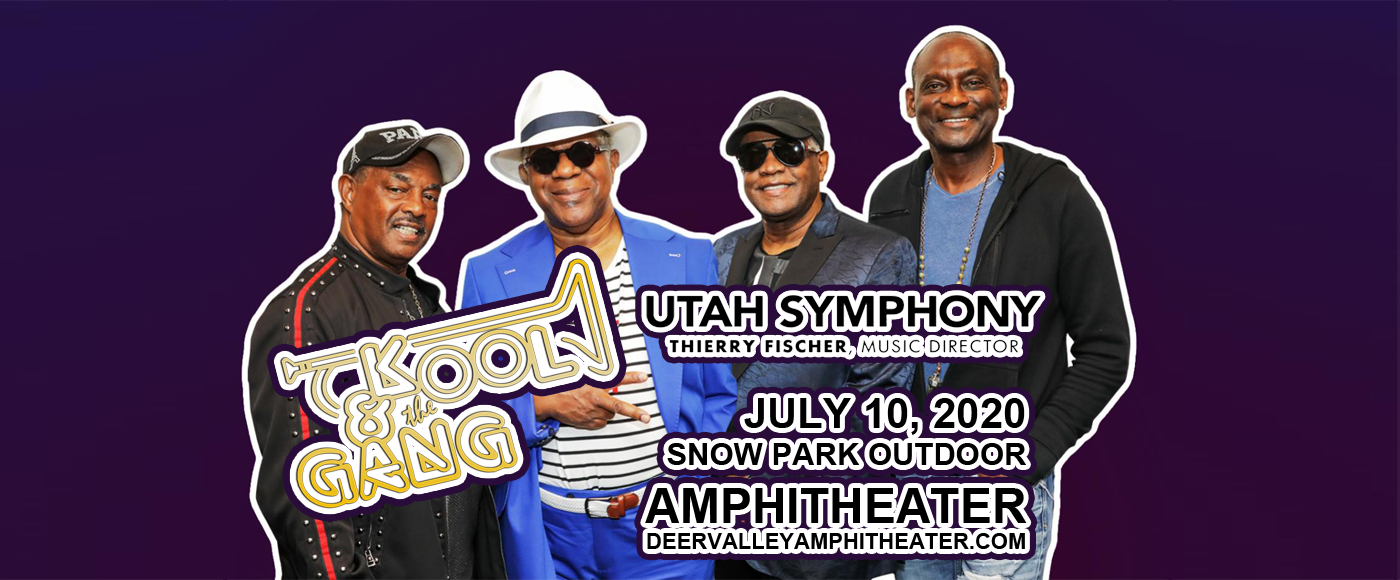 Kool and the Gang & Utah Symphony at Snow Park Outdoor Amphitheater