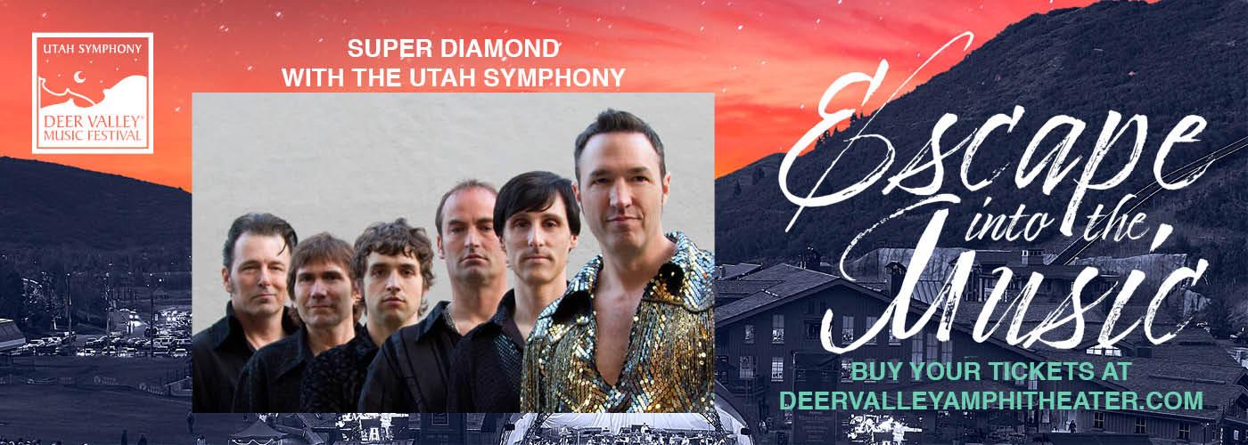 Super Diamond & Utah Symphony at Snow Park Outdoor Amphitheater