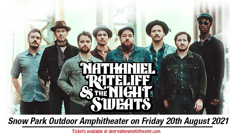 Nathaniel Rateliff and The Night Sweats at Snow Park Outdoor Amphitheater