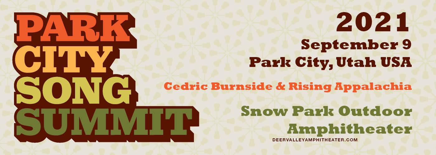 Park City Song Summit: Cedric Burnside & Rising Appalachia at Snow Park Outdoor Amphitheater